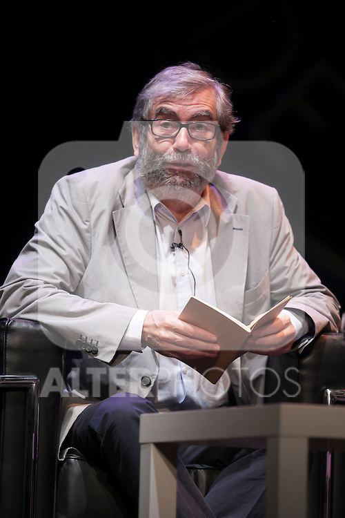 Spanish writer Antonio Munoz Molina during the `Circulo de Bellas Artes´ Golden Medal ceremony in Madrid, Spain. October 06, 2015. (ALTERPHOTOS/Victor Blanco)