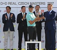 Haydn Porteous (RSA) wins the D+D Real Czech Masters at the Albatross Golf Resort, Prague, Czech Rep. 03/09/2017<br /> Picture: Golffile | Thos Caffrey<br /> <br /> <br /> All photo usage must carry mandatory copyright credit     (&copy; Golffile | Thos Caffrey)