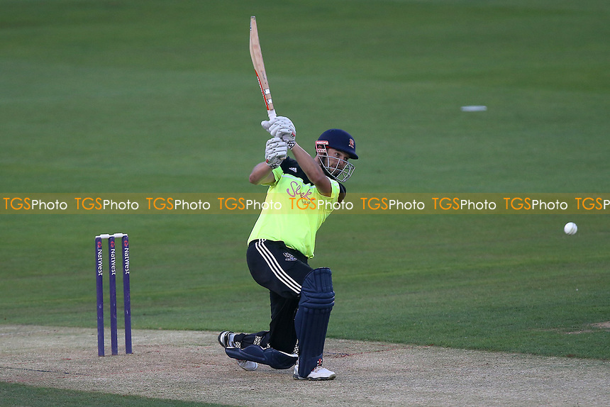 Nick Browne in batting action for the Premier Leagues XI during Essex Eagles vs Premier Leagues XI, T20 Friendly Match Cricket at The Cloudfm County Ground on 4th July 2017
