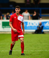 Lincoln City's James Hugo<br /> <br /> Photographer Andrew Vaughan/CameraSport<br /> <br /> Pre-Season Friendly - Gainsborough Trinity v Lincoln City - Saturday 15th July 2017 - The Gainsborough Martin &amp; Co Arena - Gainsborough<br /> <br /> World Copyright &copy; 2017 CameraSport. All rights reserved. 43 Linden Ave. Countesthorpe. Leicester. England. LE8 5PG - Tel: +44 (0) 116 277 4147 - admin@camerasport.com - www.camerasport.com