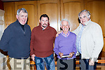 Mundy Hayes Kilflynn, Thomas Kearney Ardfert, Tom Lawlor Ballyheigue, Richard Hartnett Castleisland at the launch of the Listowe to the Liffey about the Kerry farmers rights walk held in 1966