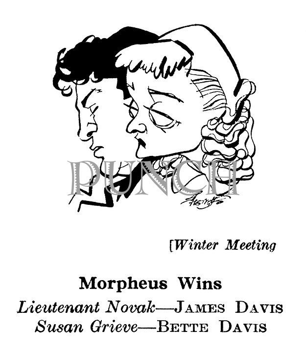 Winter Meeting ; James Davis and Bette Davis..........