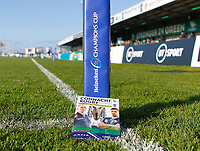 17th November 2019; The Sportsground, Galway, Connacht, Ireland; European Rugby Champions Cup, Connacht versus Montpellier; View of the match day programme for the Champions Cup clash between Connacht and Montpellier - Editorial Use