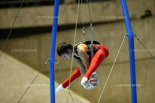 Shota Hisanaga, NOVEMBER 3, 2012 - Artistic Gymnastics : The 66th All Japan Gymnastics Team Championship Men's Rings at 1st Yoyogi Gymnasium, Tokyo, Japan. (Photo by YUTAKA/AFLO SPORT)