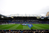 9th November 2019; Stamford Bridge, London, England; English Premier League Football, Chelsea versus Crystal Palace; General view of Stamford Bridge - Strictly Editorial Use Only. No use with unauthorized audio, video, data, fixture lists, club/league logos or 'live' services. Online in-match use limited to 120 images, no video emulation. No use in betting, games or single club/league/player publications