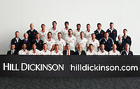 PICTURE BY VAUGHN RIDLEY/SWPIX.COM - Cricket - County Championship - Lancashire County Cricket Club 2012 Media Day - Old Trafford, Manchester, England - 03/04/12 - The Lancashire CCC players, coaches and management gather in The Point for the 2012 photo call.  Hill Dickinson sponsor.