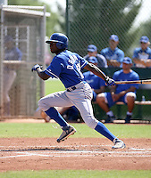 Derrick Robinson / Kansas City Royals 2008 Instructional League..Photo by:  Bill Mitchell/Four Seam Images