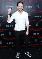 WEST HOLLYWOOD, CA, USA - SEPTEMBER 21: Eli Lieb arrives at the John Varvatos #PeaceRocks Ringo Starr Private Concert held at the John Varvatos Boutique on September 21, 2014 in West Hollywood, California, United States. (Photo by Xavier Collin/Celebrity Monitor)