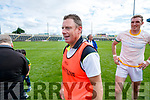 Jimmy Keane Manager Kerry against Meath in the All Ireland Junior Football Final at O'Moore Park, Portlaoise on Saturday.