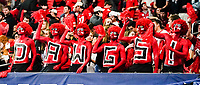 ATLANTA, GA - DECEMBER 7: Georgia fans during a game between Georgia Bulldogs and LSU Tigers at Mercedes Benz Stadium on December 7, 2019 in Atlanta, Georgia.