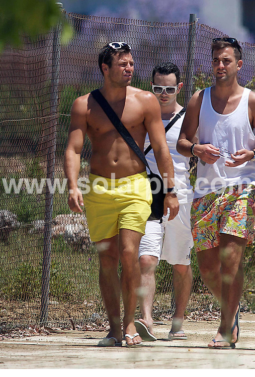 **ALL ROUND PICTURES FROM SOLARPIX.COM**                                 **WORLDWIDE SYNDICATION RIGHTS**                   Caption:  Towie Mark Wright with his gang of Essex lads taking a stroll under the spanish Sun. Mark is in Marbella ahead of his weekend pool party at the Sisu Boutique Hotel.                                                                                 This pic: Mark Wright & the lads.                                                                                        JOB REF: 13421       AB1       DATE:   24.05.2011                                                          **MUST CREDIT SOLARPIX.COM OR DOUBLE FEE WILL BE CHARGED**                                                                        **MUST NOTIFY SOLARPIX OF ONLINE USAGE**                 **CALL US ON: +34 952 811 768 or LOW RATE FROM UK 0844 617 7637**