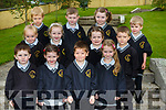 Ms Murphy junior infant class in Scoil Mhuire Brosna on Monday
