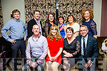 Staff of the Bon Secour Hospital, Tralee enjoying their Christmas party on Friday night at Fels Point Hotel. Pictured Front l-r  Chris Brennan, Deirdre O'Donoghue, Ciara Stack and  George Philip. Back l-r  Billy Stack, Conor Clifford, Tanya O'Sullivan, Marie Clifford, Mary Diggin and Moira O'Connor.
