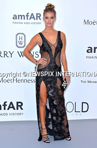 12.05.2015, Antibes; France:NINA AGDAL<br /> attends the Cinema Against AIDS amfAR gala 2015 held at the Hotel du Cap, Eden Roc in Cap d'Antibes.<br /> MANDATORY PHOTO CREDIT: &copy;Thibault Daliphard/NEWSPIX INTERNATIONAL<br /> <br /> (Failure to credit will incur a surcharge of 100% of reproduction fees)<br /> <br /> **ALL FEES PAYABLE TO: &quot;NEWSPIX  INTERNATIONAL&quot;**<br /> <br /> Newspix International, 31 Chinnery Hill, Bishop's Stortford, ENGLAND CM23 3PS<br /> Tel:+441279 324672<br /> Fax: +441279656877<br /> Mobile:  07775681153<br /> e-mail: info@newspixinternational.co.uk