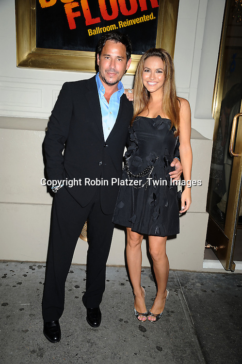 actors Ricky Paull Goldin and Chrishell Stause