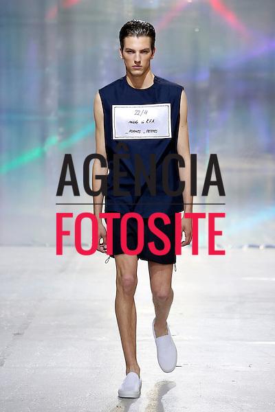 Paris, Franca &ndash; 06/2014 - Desfile de 22 4 durante a Semana de moda masculina de Paris - Verao 2015. <br /> Foto: FOTOSITE