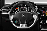 Car pictures of steering wheel view of a 2016 Ds DS3 So-Chic 3 Door hatchback Steering Wheel