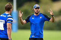 Bath Rugby first team coach Girvan Dempsey. Bath Rugby pre-season training on August 8, 2018 at Farleigh House in Bath, England. Photo by: Patrick Khachfe / Onside Images