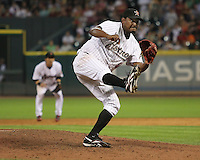 Houston Astros pitcher Jose Valverde on Friday May 23rd at Minute Maid Park in Houston, Texas. Photo by Andrew Woolley / Four Seam Images...