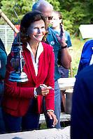 Queen Silvia. Photo: Mikko Roininen / Scouterna