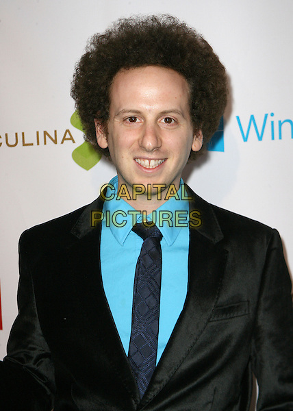 Josh Sussman.THEWRAP Pre-Oscar Party held at Culina Restaurant at the Four Seasons Hotel, Los Angeles, California, USA, .20th February 2013..portrait headshot turquoise shirt suit tie black jacket .CAP/ADM/AM.©Amelie Mucci/AdMedia/Capital Pictures.