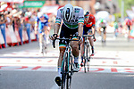 Irish Champion Sam Bennett (IRL) Bora-Hansgrohe finishes 2nd place on Stage 17 of La Vuelta 2019  running 219.6km from Aranda de Duero to Guadalajara, Spain. 11th September 2019.<br /> Picture: Luis Angel Gomez/BettiniPhoto | Cyclefile<br /> <br /> All photos usage must carry mandatory copyright credit (© Cyclefile | Luis Angel Gomez/BettiniPhoto)