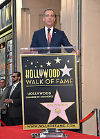 LOS ANGELES, CA. November 19, 2019: Eric Garcetti at the Hollywood Walk of Fame Star Ceremony honoring Kristen Bell & Idina Menzel.<br /> Pictures: Paul Smith/Featureflash