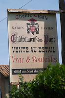domaine sabon favier chateauneuf du pape rhone france