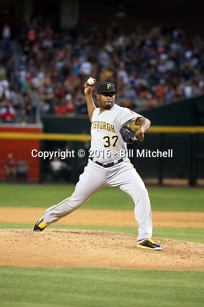 Arquimedes Caminero - 2016 Pittsburgh Pirates (Bill Mitchell)