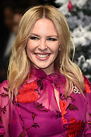 "Kylie Minogue<br /> arriving for the ""Last Christmas"" Premiere at the BFI Southbank, London.<br /> <br /> ©Ash Knotek  D3531 11/11/2019"