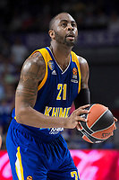 Khimki Moscow James Anderson during Turkish Airlines Euroleague match between Real Madrid and Khimki Moscow at Wizink Center in Madrid, Spain. November 02, 2017. (ALTERPHOTOS/Borja B.Hojas) /NortePhoto.com