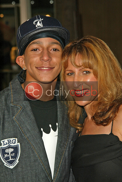 Khleo Thomas with mom Racquel