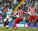 Efe Ambrose sets up a one man attack