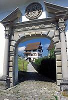 Schweiz, Kanton Schwyz, Stans: Gstift-Tor | Switzerland, Canton Schwyz, Stans: Gstift-gate
