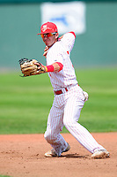 Jake Rosen (5) of the St. John's (Shrewsbury) Pioneers during a game versus the Boston College High School Eagles at Campanelli Stadium on June 7, 2015 in Brockton, Massachusetts. (Ken Babbitt/Four Seam Images)