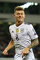 Toni Kroos (Deutschland Germany) - 05.10.2017: Nordirland vs. Deutschland, WM-Qualifikation Spiel 9, Windsor Park Belfast