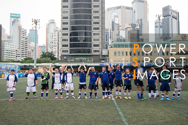 Juniors U-11 Plate Final. Sun International vs ESF during the Juniors of the HKFC Citi Soccer Sevens on 21 May 2016 in the Hong Kong Footbal Club, Hong Kong, China. Photo by Li Man Yuen / Power Sport Images