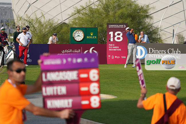 Joost Luiten (NED) during the third round of the Commercial Bank Qatar Masters 2020, Education City Golf Club , Doha, Qatar. 07/03/2020<br /> Picture: Golffile   Phil Inglis<br /> <br /> <br /> All photo usage must carry mandatory copyright credit (© Golffile   Phil Inglis)