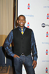 All My Children Darnell Williams at ABC Daytime Salutes Broadway Cares/Equity Fights Aids - The Grand Finale Celebration on March 13, 2011 with a musical show at Town Hall, New York City, New York followed by an after party at the New York Marriott Marquis. (Photo by Sue Coflin/Max Photos)