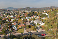 Eagle Rock neighborhood, Dec. 1, 2009. (Photo by Marc Campos, Occidental College Photographer)