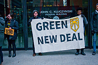 Green New Deal Supporters Chicago Illinois 2-26-19