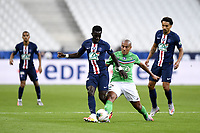 24th July 2020, Stade de France, Paris, France; French football Cup Final, Paris Saint Germain versus  St Ertienne;  27 IDRISSA GUEYE (PSG) - 10 WAHBI KHAZRI (ASSE)