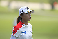 Lydia Ko (NZL) in action on the 9th during Round 4 of the HSBC Womens Champions 2018 at Sentosa Golf Club on the Sunday 4th March 2018.<br /> Picture:  Thos Caffrey / www.golffile.ie<br /> <br /> All photo usage must carry mandatory copyright credit (&copy; Golffile | Thos Caffrey)