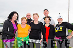Helen Merrit, Pauline O'Shea, Paul Williams, Susan O'Shea, Mike Brosnan, Rose Brosnan and Vicky McCarthy at the WALK4AUTISM 5km Walk at the John Mitchels complex on Sunday