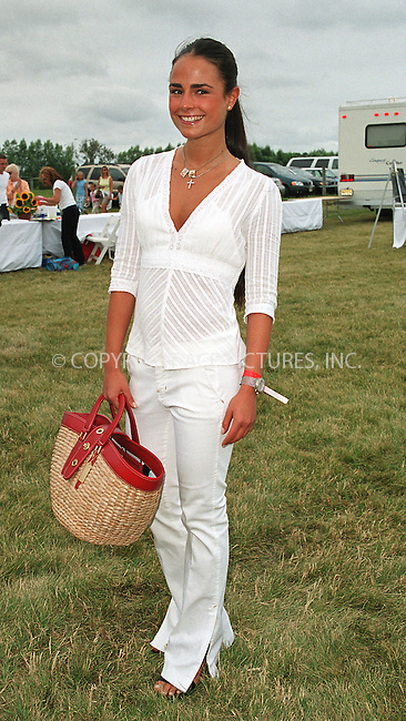"Jordana Brewster at the Fifth Annual ""Super Saturday"" designer sale and family event to benefit the ovarian cancer research fund. Water Mill, Long Island. July 27, 2002. Please byline: Alecsey Boldeskul/NY Photo Press.   ..*PAY-PER-USE*      ....NY Photo Press:  ..phone (646) 267-6913;   ..e-mail: info@nyphotopress.com"