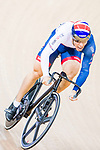 Ryan Owens of Great Britain Rider competes on the Men's Sprint Quarter-finals - 2nd Race during the 2017 UCI Track Cycling World Championships on 15 April 2017, in Hong Kong Velodrome, Hong Kong, China. Photo by Marcio Rodrigo Machado / Power Sport Images