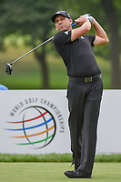Sergio Garcia (ESP) watches his tee shot on 3 during 1st round of the World Golf Championships - Bridgestone Invitational, at the Firestone Country Club, Akron, Ohio. 8/2/2018.<br /> Picture: Golffile | Ken Murray<br /> <br /> <br /> All photo usage must carry mandatory copyright credit (© Golffile | Ken Murray)