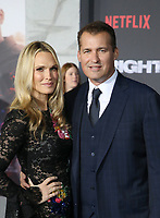 WESTWOOD, CA - DECEMBER 13: Molly Sims, Scott Stuber, at Premiere Of Netflix's 'Bright' at The Regency Village Theatre, In Hollywood, California on December 13, 2017. Credit: Faye Sadou/MediaPunch /NortePhoto.com NORTEPHOTOMEXICO