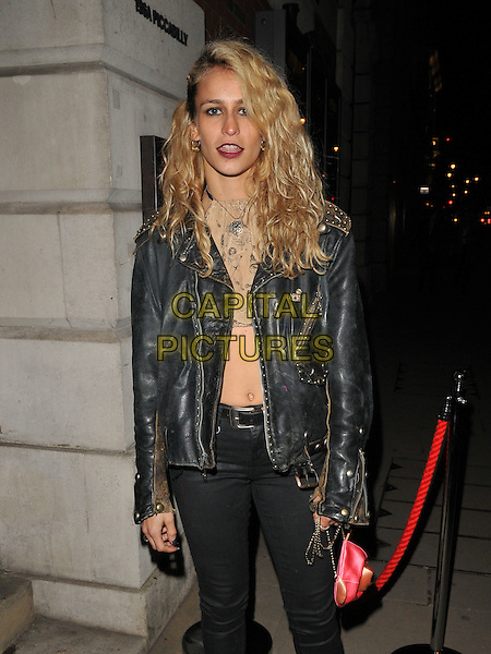 Alice Dellal attends the Messika by Vivienne Becker book launch party, Maison Assouline, Piccadilly, London, UK, on Wednesday 10 February 2016.<br /> CAP/CAN<br /> &copy;Can Nguyen/Capital Pictures