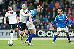 St Johnstone v Rangers....13.05.12   SPL.Stephen Whittaker and Liam Craig.Picture by Graeme Hart..Copyright Perthshire Picture Agency.Tel: 01738 623350  Mobile: 07990 594431